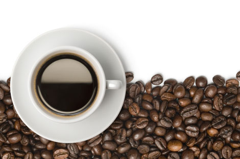 Caffeine from four cups of coffee protects the heart with the help