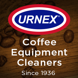 URNEX Coffee Equipment Cleaners since 1936