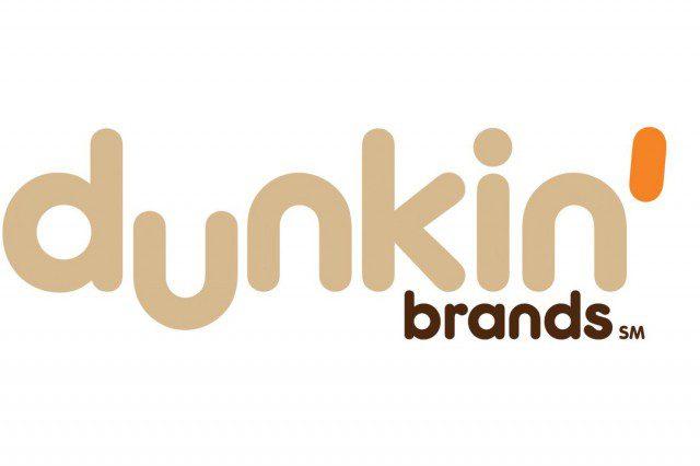 dunkin brands big logo