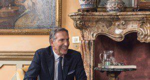 Howard schultz starbucks in italy Milan