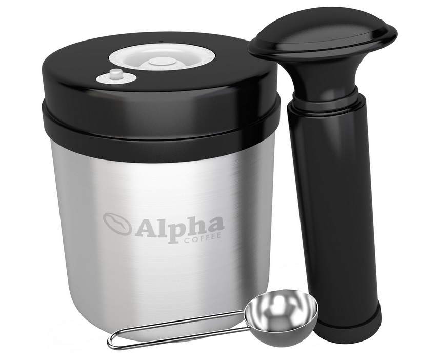 Alpha Coffee announces the launch of vacuum storage container