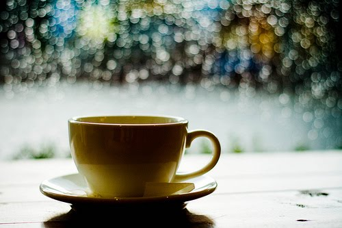 """What's a rainy day without some delicious coffee-flavoured loneliness?"""