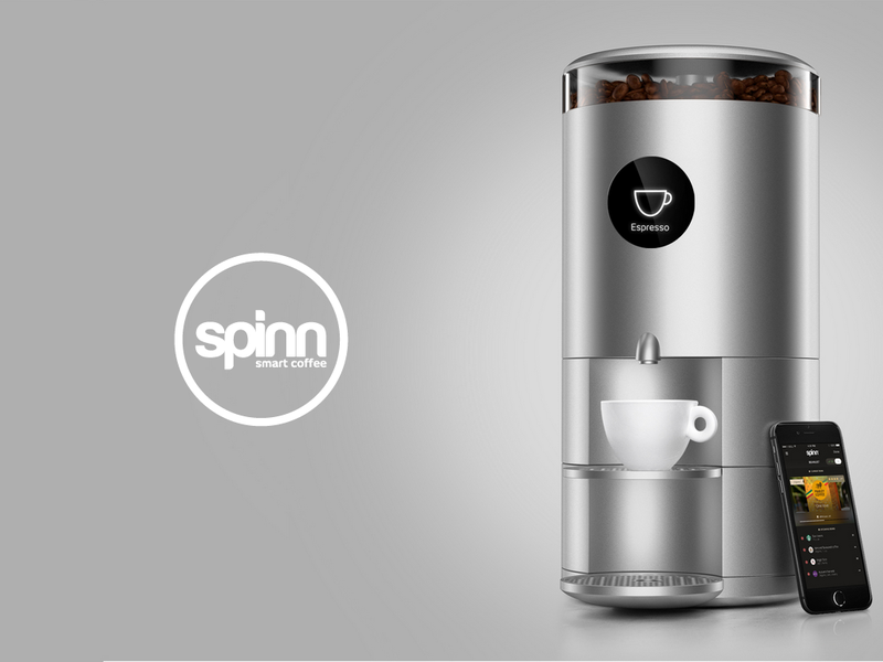 Centrifugal Coffee Maker : Spinn coffee chooses ayla networks iot platform