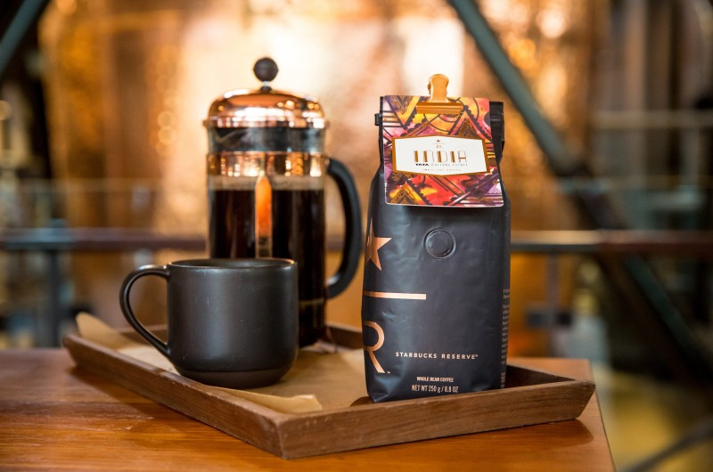 First Starbucks Reserve Coffee From India Now Available