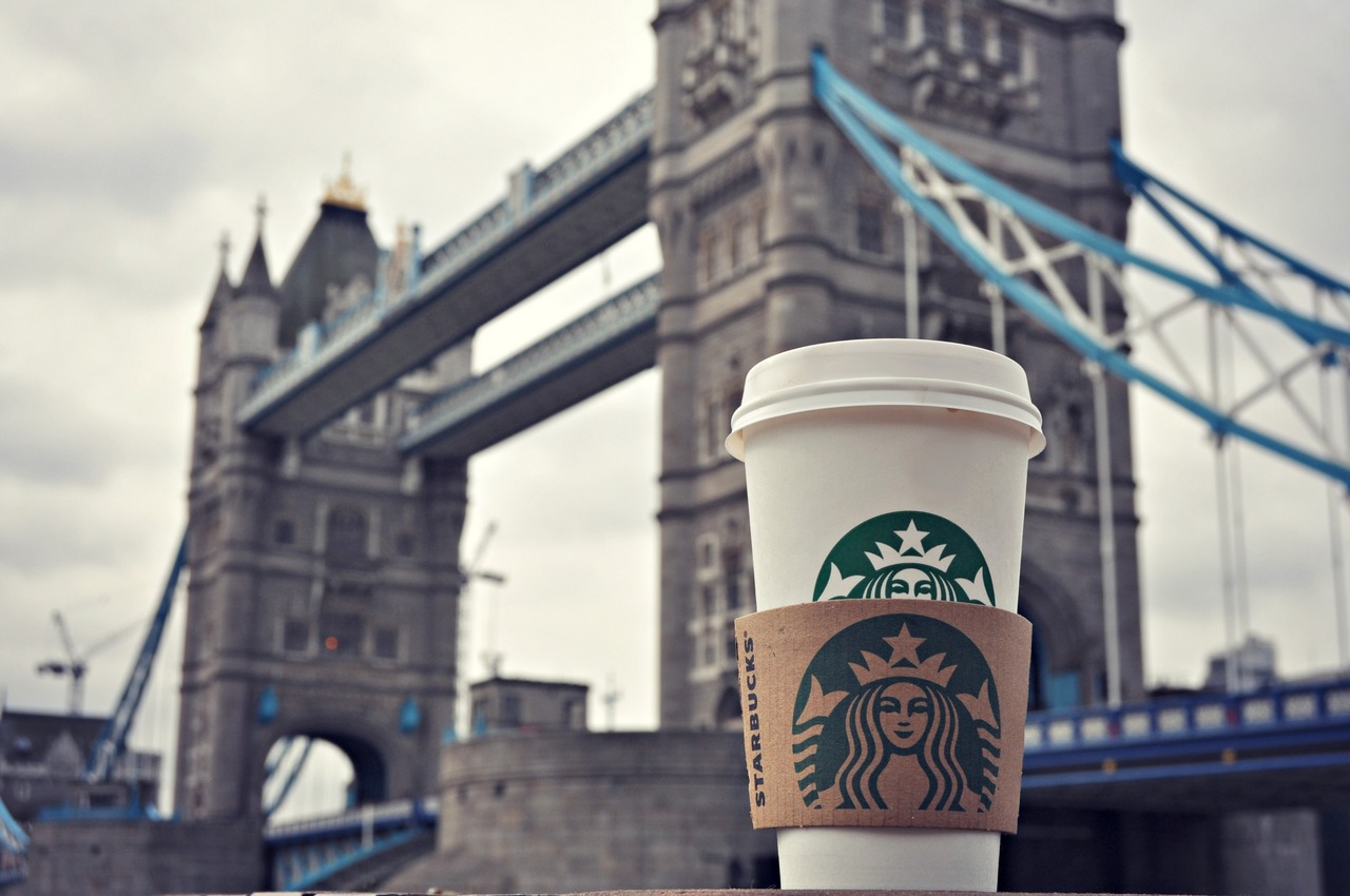 Starbucks locations london