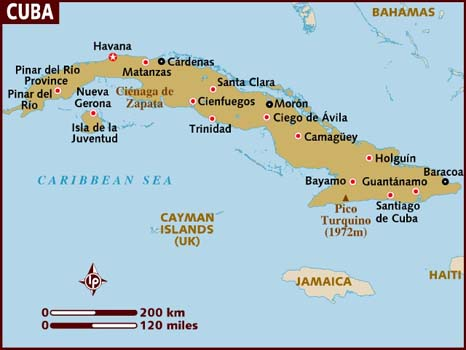 Cuba Hopes To Revive The Countrys Oncethriving Coffee Industry - Cuba provinces map