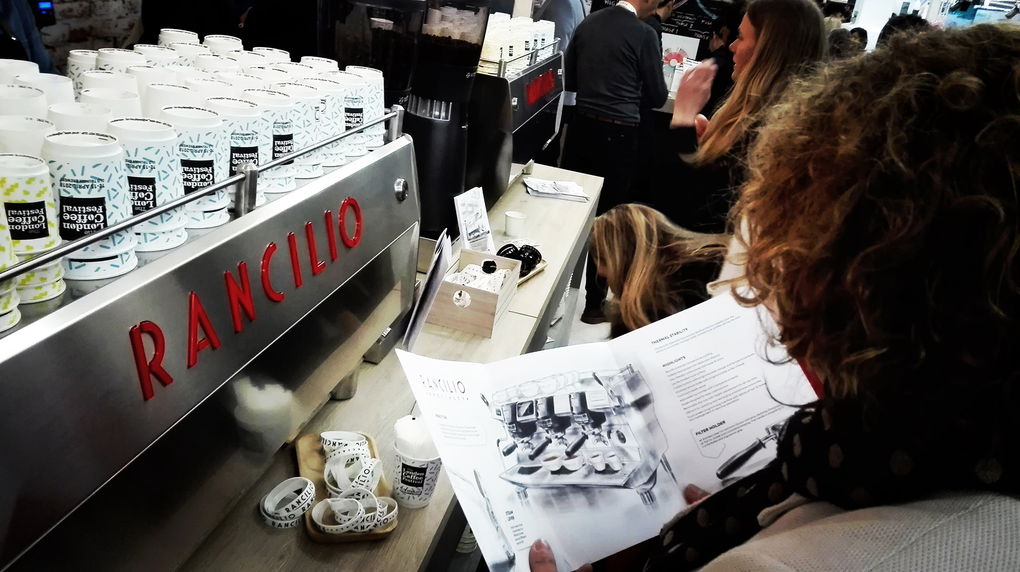 Rancilio Specialty Takes The Centre Stage At The London