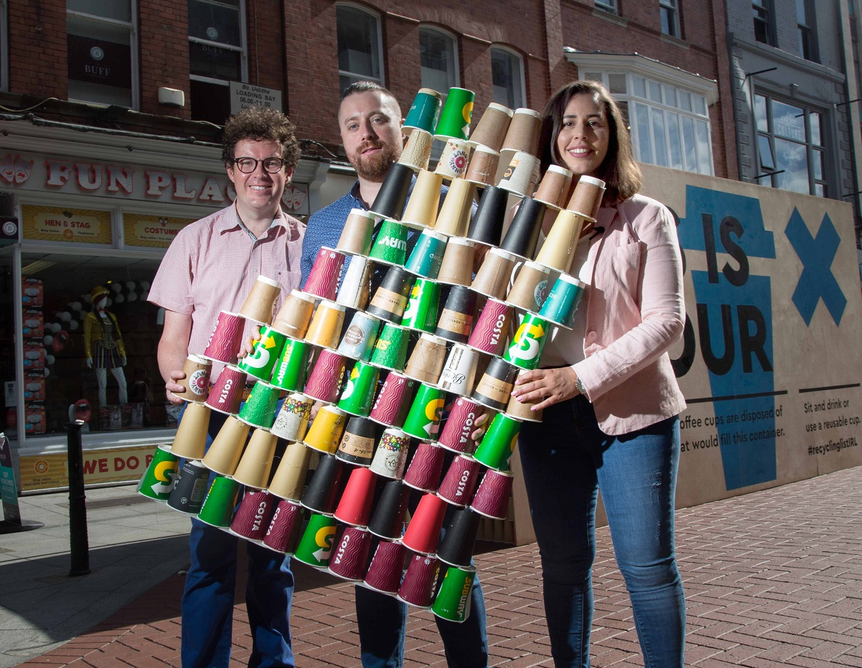 In Ireland Single Use Coffee Cups Cannot Be Disposed Of Recycling Bins