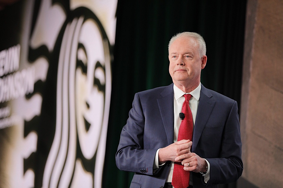 Starbucks Ceo Kevin Johnson to speak at NRF 2020 Vision: Retail's ...