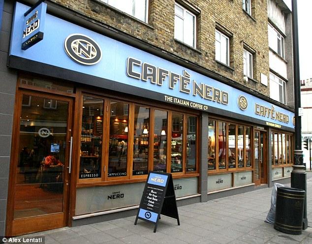 UK coffee shops Caffè Nero