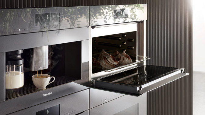 Miele Flagship Coffee Machine Can Supply Up To 3 Different