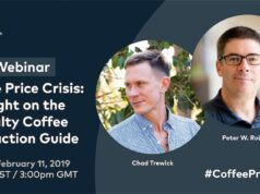 Specialty Coffee Association webinar