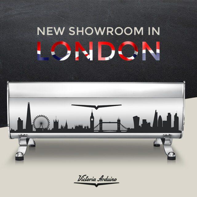 Victoria Arduino showroom London