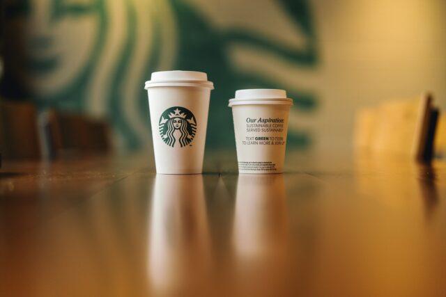 Starbucks greener cups