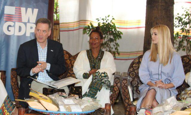 trump ethiopian women