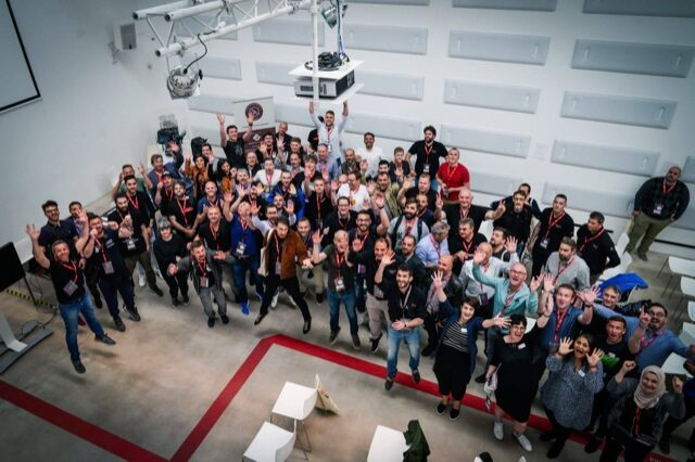 Guild-Foto-di-Gruppo Group photo with the participants at the Coffee Technicians Guild Summit