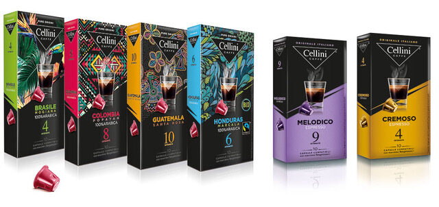 Cellini coffee capsules