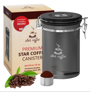 Star Coffee airtight