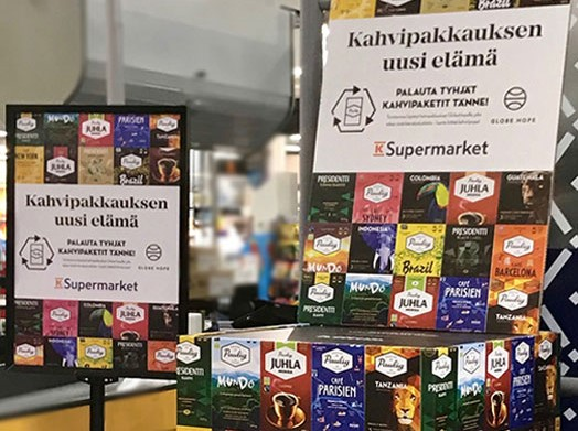 Finland recycling packages