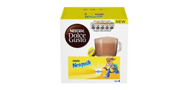 Nesquik Joins The Nescafé Dolce Gusto System Line Up