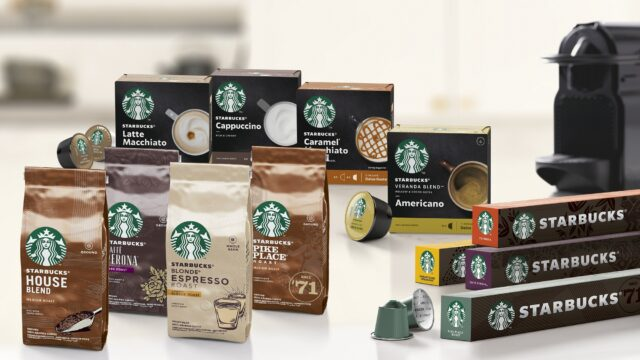 Nestlé Starbucks China