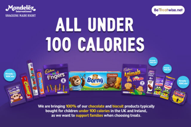 Mondelēz calories