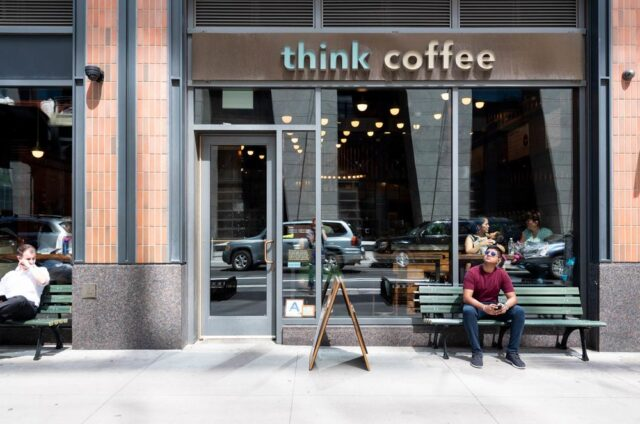 think coffee cups