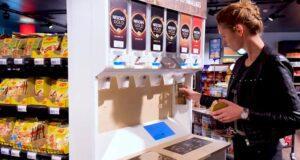 Nestlé reusable dispensers
