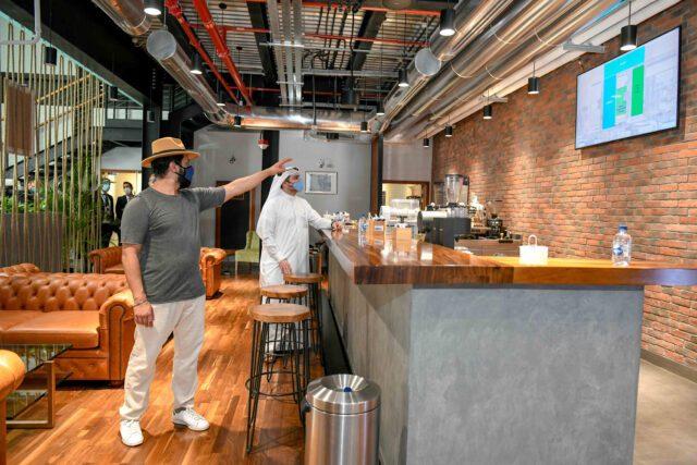 Dubai gateway Dmcc Coffee Centre