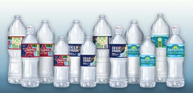 Nestlé Waters recycled plastic