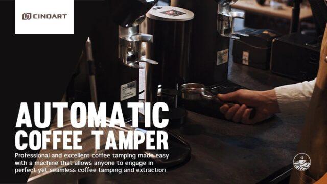 automatic coffee tamper Cinoart