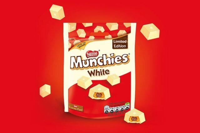 Munchies white chocolate