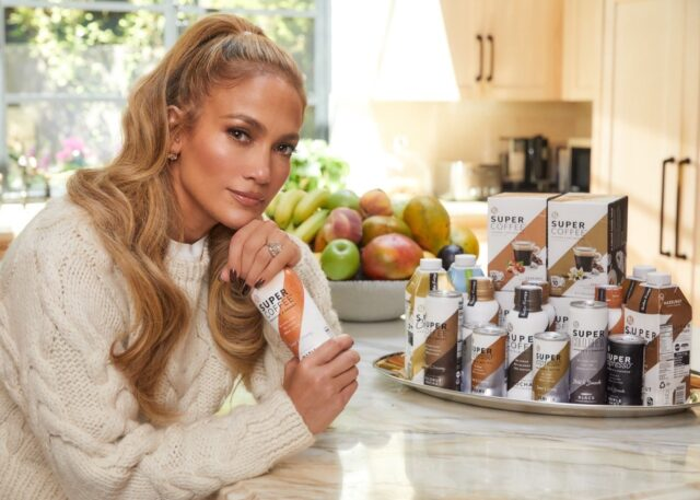 Jennifer Lopez Super Coffee