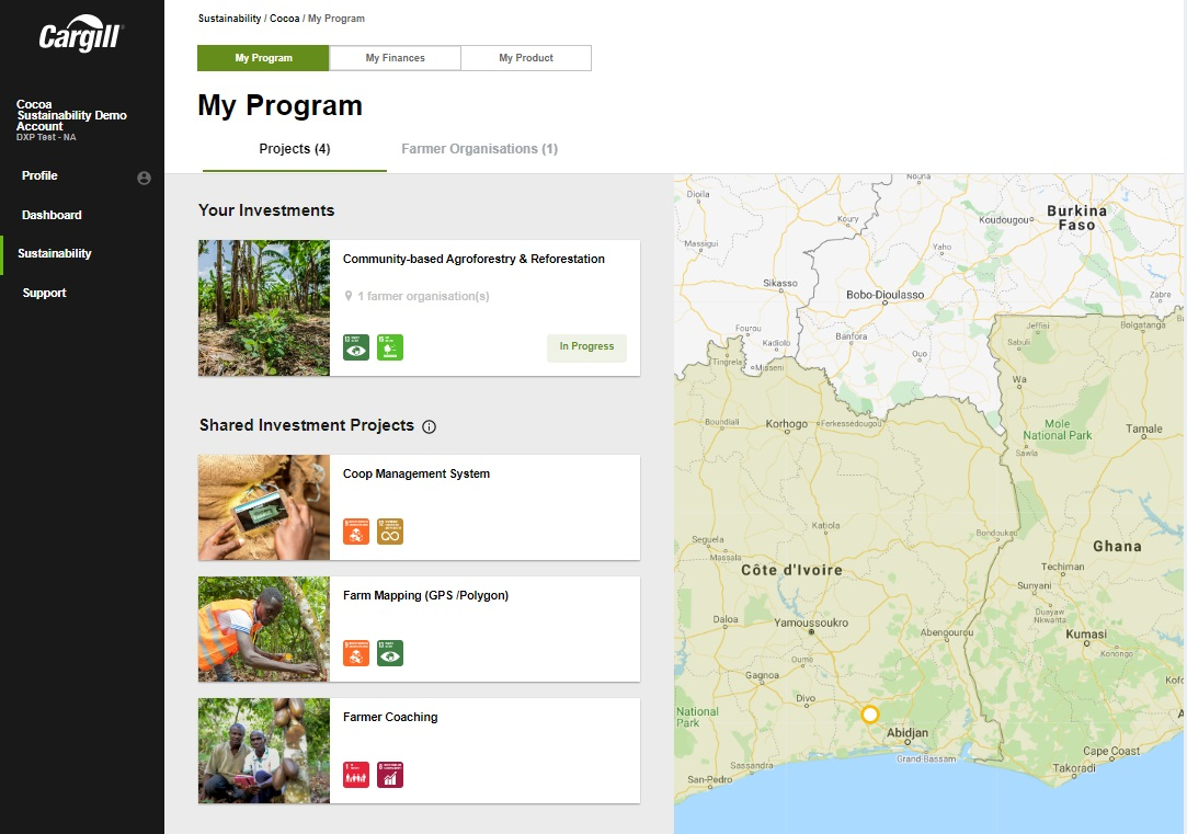 Cargill's CocoaWise portal keeps sustainability at the customers' fingertips