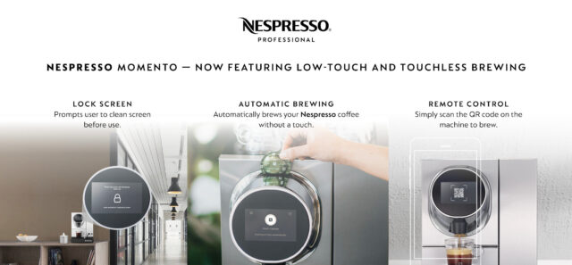 Nespresso Momento touchless