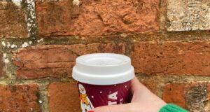 Costa Coffee reusable cup lid