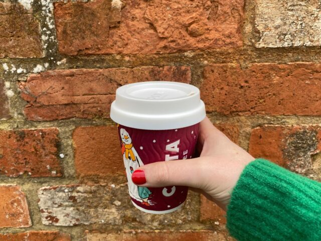 Costa Coffee reusable cup lid