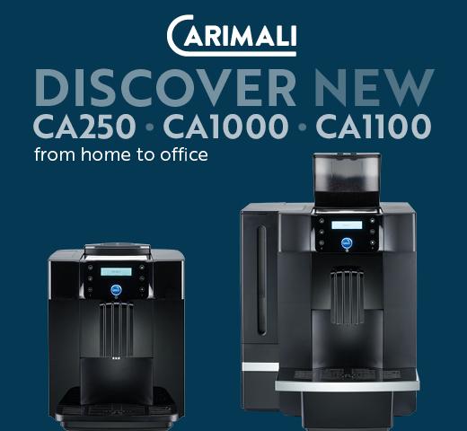 Carimali bean to cup machines