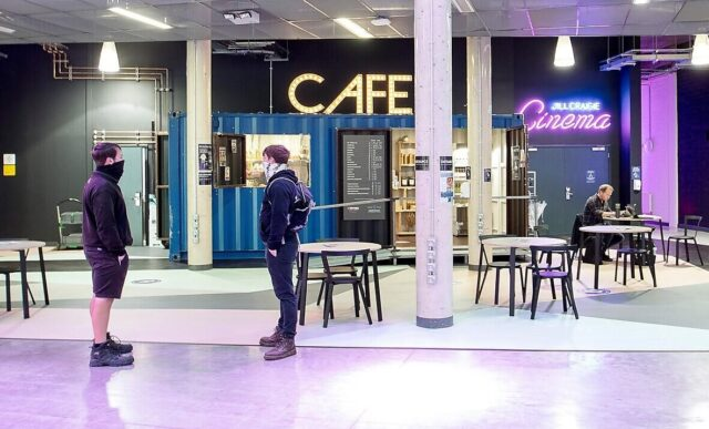 University of Plymouth Container Café