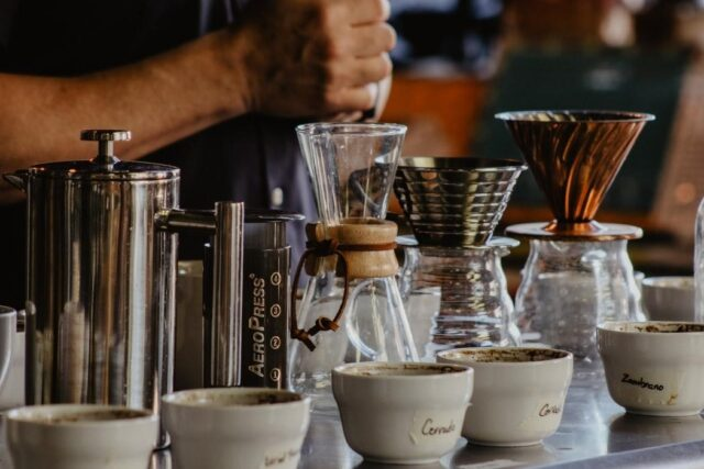 French Press pour-over