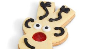 Costa Coffee Jammy Rudolph Shortcake