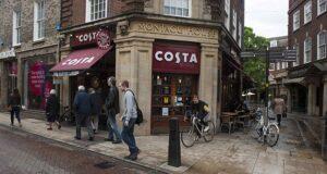 UK branded coffee shop