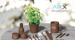 AirXcoffee coffee bio-composite