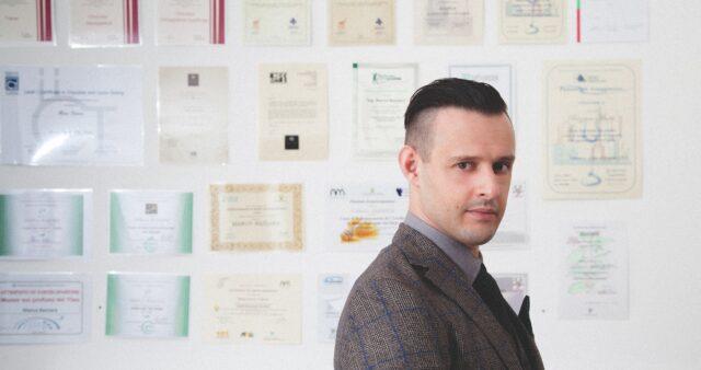 The Director of the Bazzara Academy, Marco Bazzara