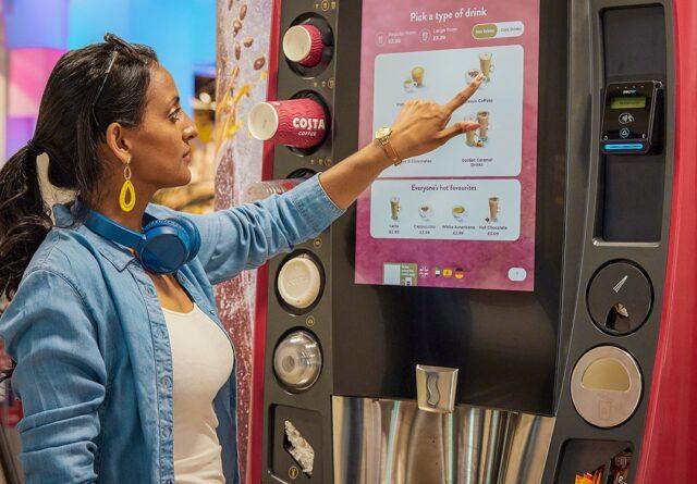 Costa Coffee machines