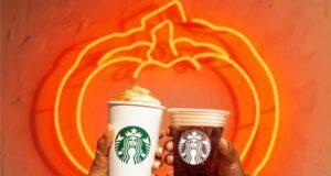 Pumpkin Starbucks